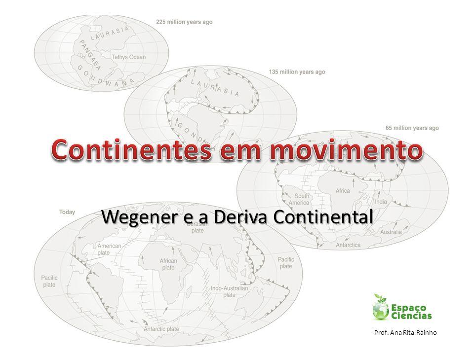 Continentes em movimento