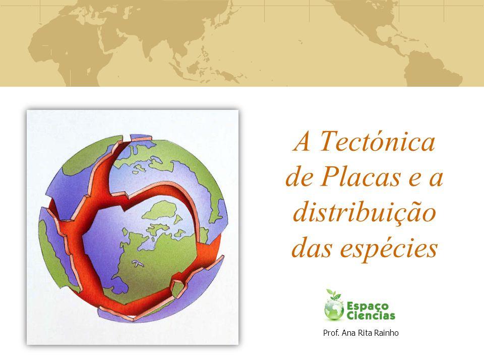 A Tectónica de Placas e a distribuição das espécies