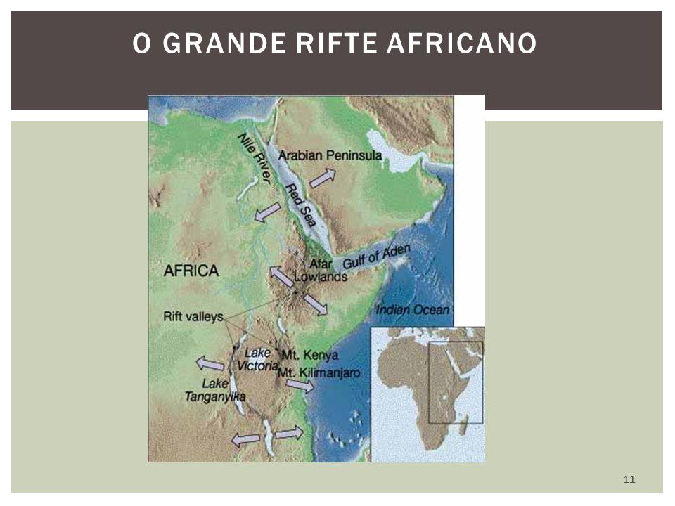 O grande rifte Africano