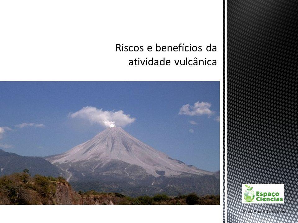Riscos e benefícios da atividade vulcânica