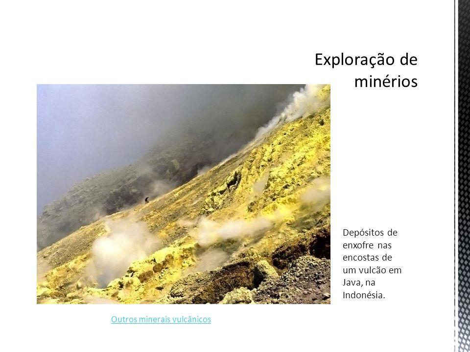 Exploração de minérios