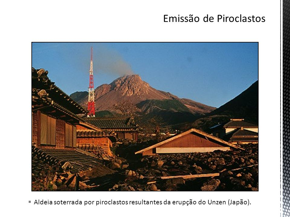 Emissão de Piroclastos