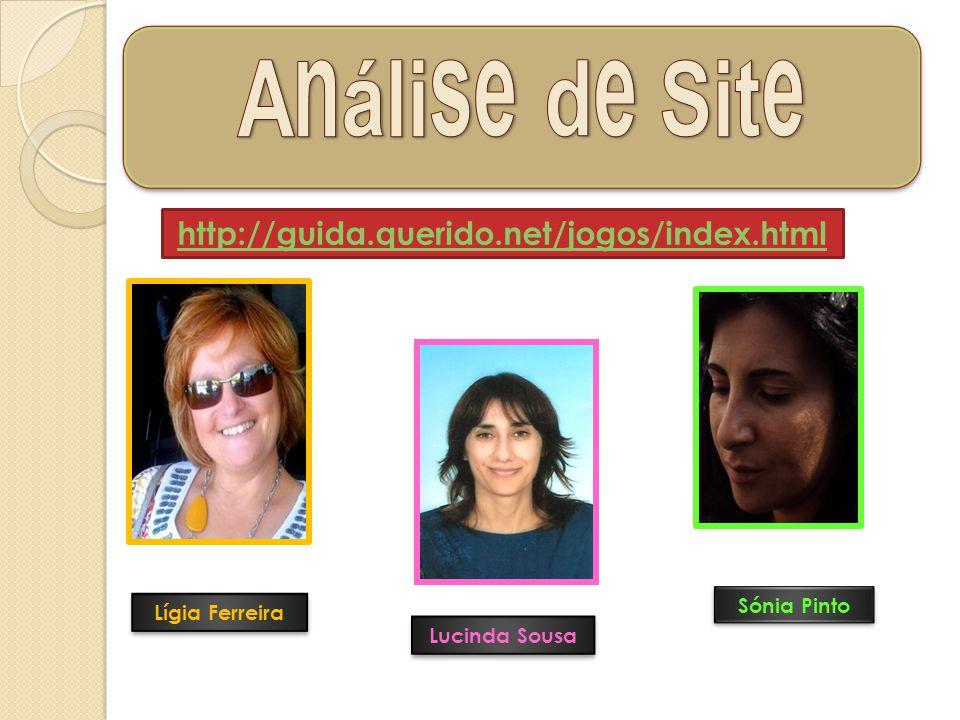 Análise de Site http://guida.querido.net/jogos/index.html Sónia Pinto