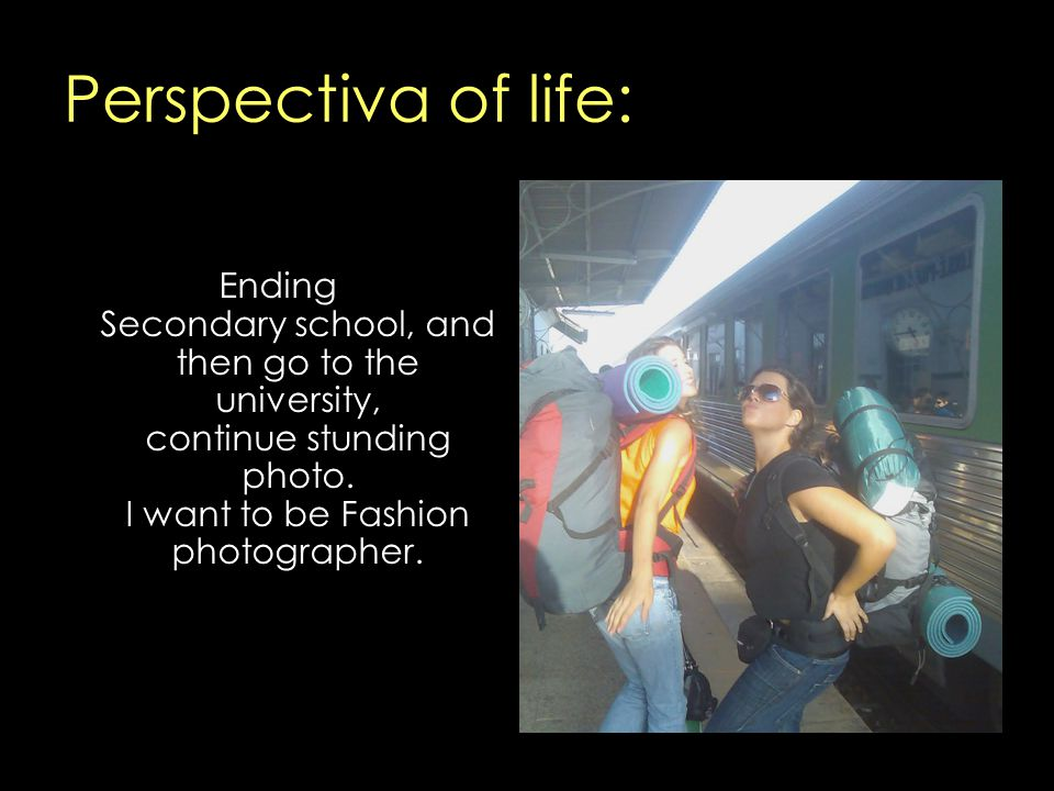 Perspectiva of life: Ending Secondary school, and then go to the university, continue stunding photo.