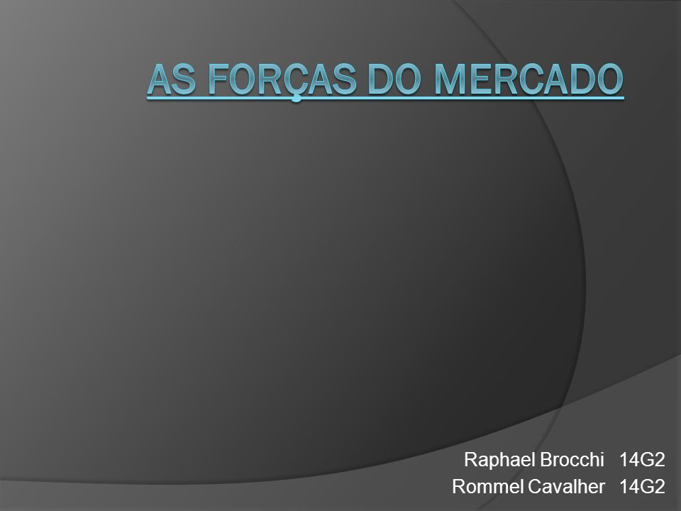 Raphael Brocchi 14G2 Rommel Cavalher 14G2