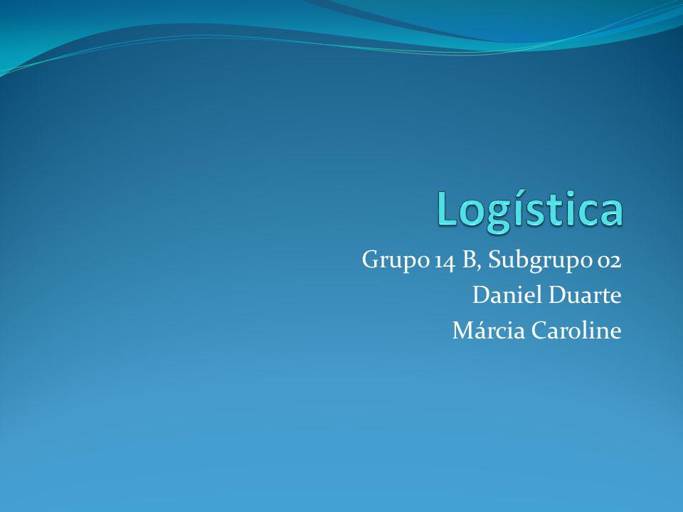 Grupo 14 B, Subgrupo 02 Daniel Duarte Márcia Caroline