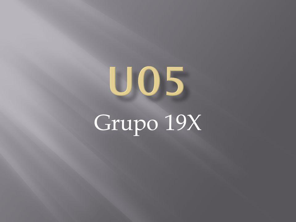 U05 Grupo 19X