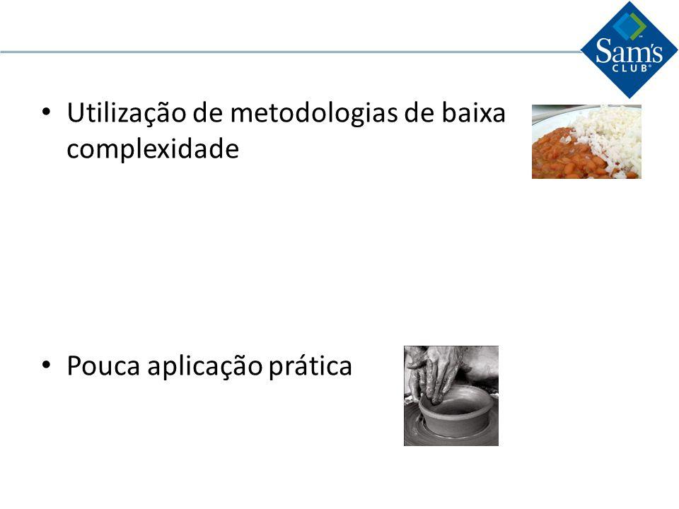 Utilização de metodologias de baixa complexidade