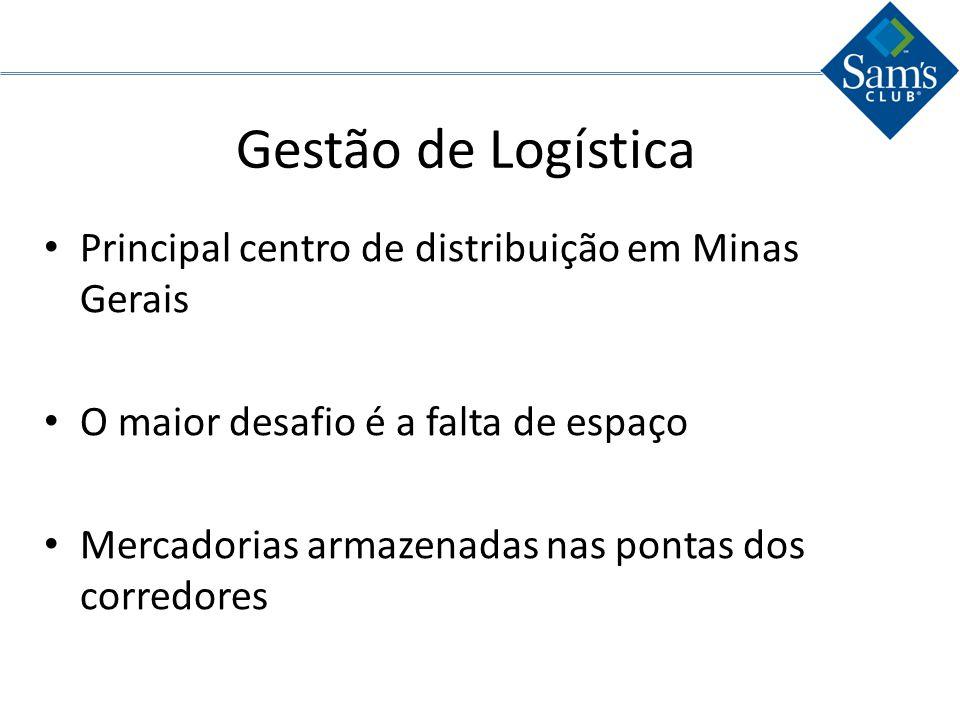 Gestão de Logística Principal centro de distribuição em Minas Gerais