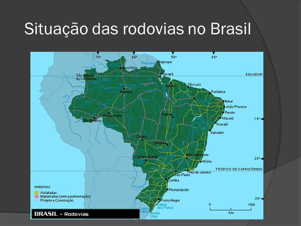 Situação das rodovias no Brasil