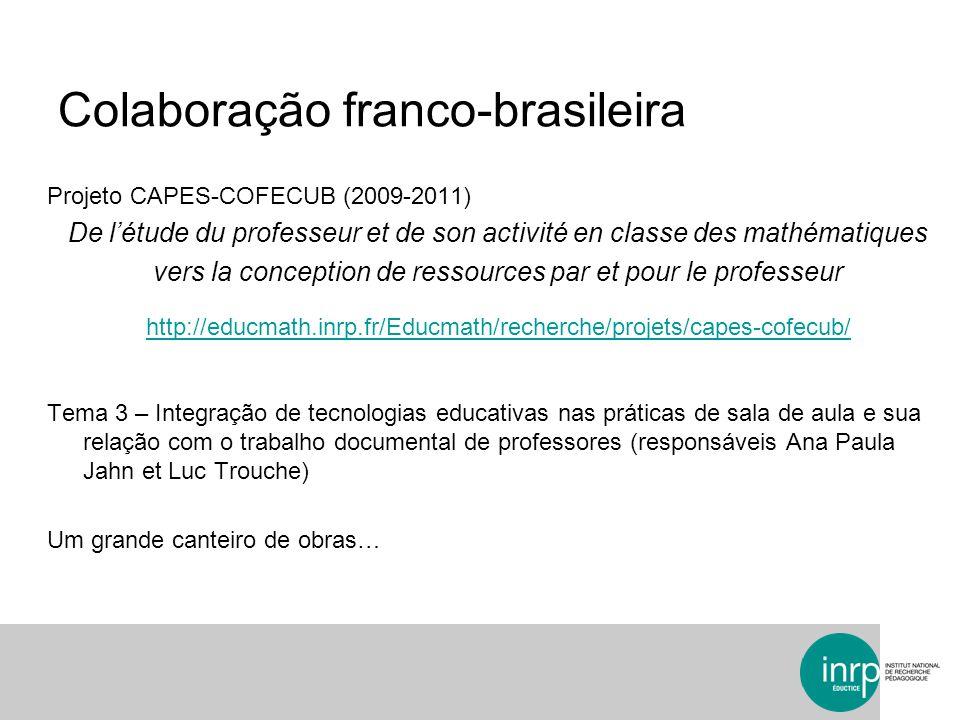Colaboração franco-brasileira