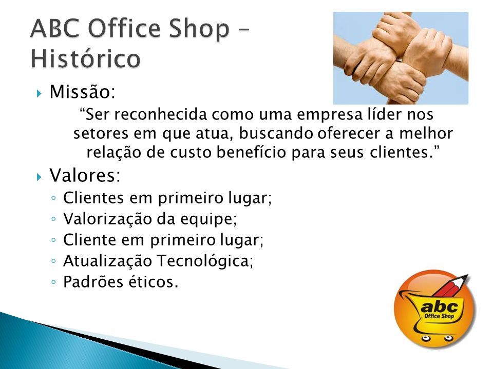 ABC Office Shop – Histórico