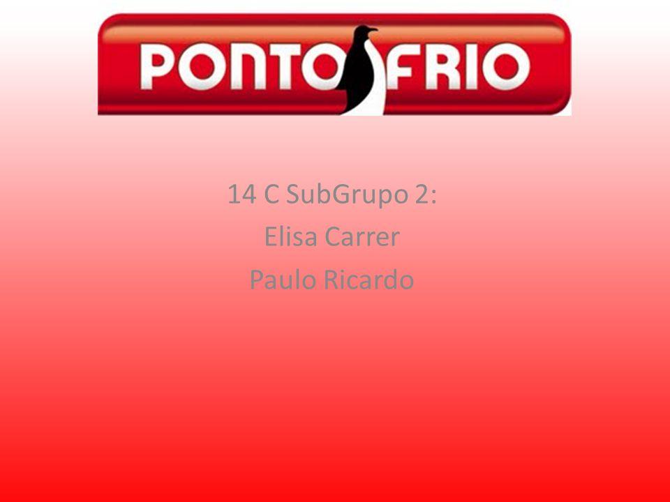 14 C SubGrupo 2: Elisa Carrer Paulo Ricardo