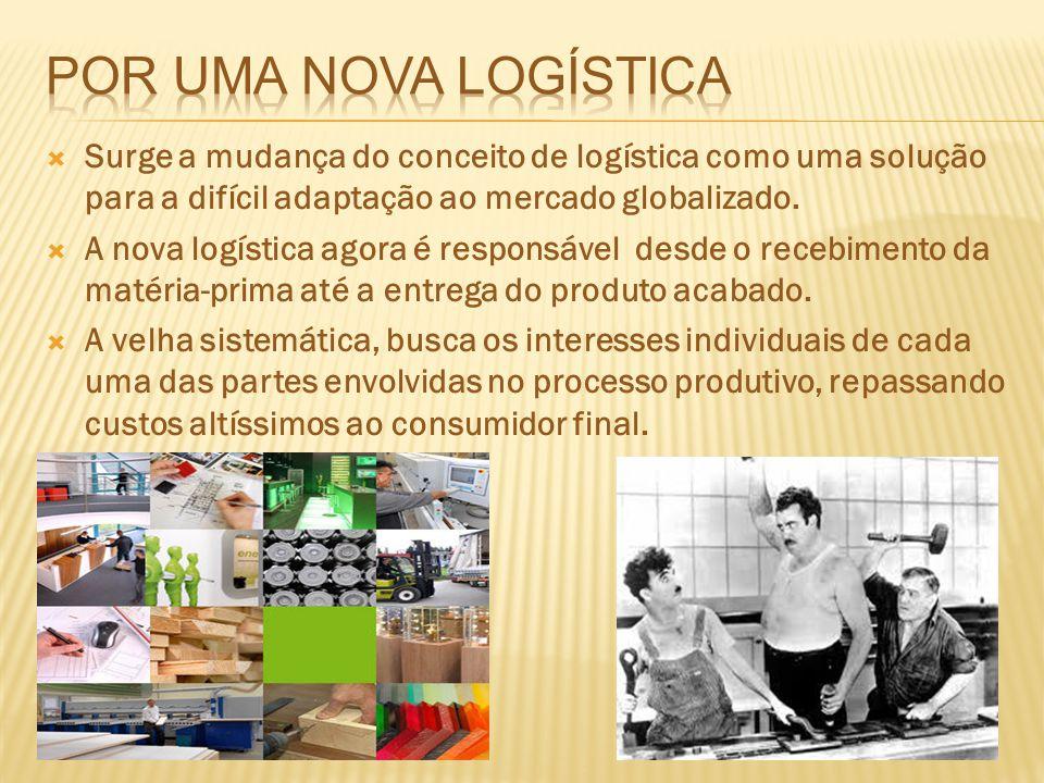 Por uma nova logística Surge a mudança do conceito de logística como uma solução para a difícil adaptação ao mercado globalizado.