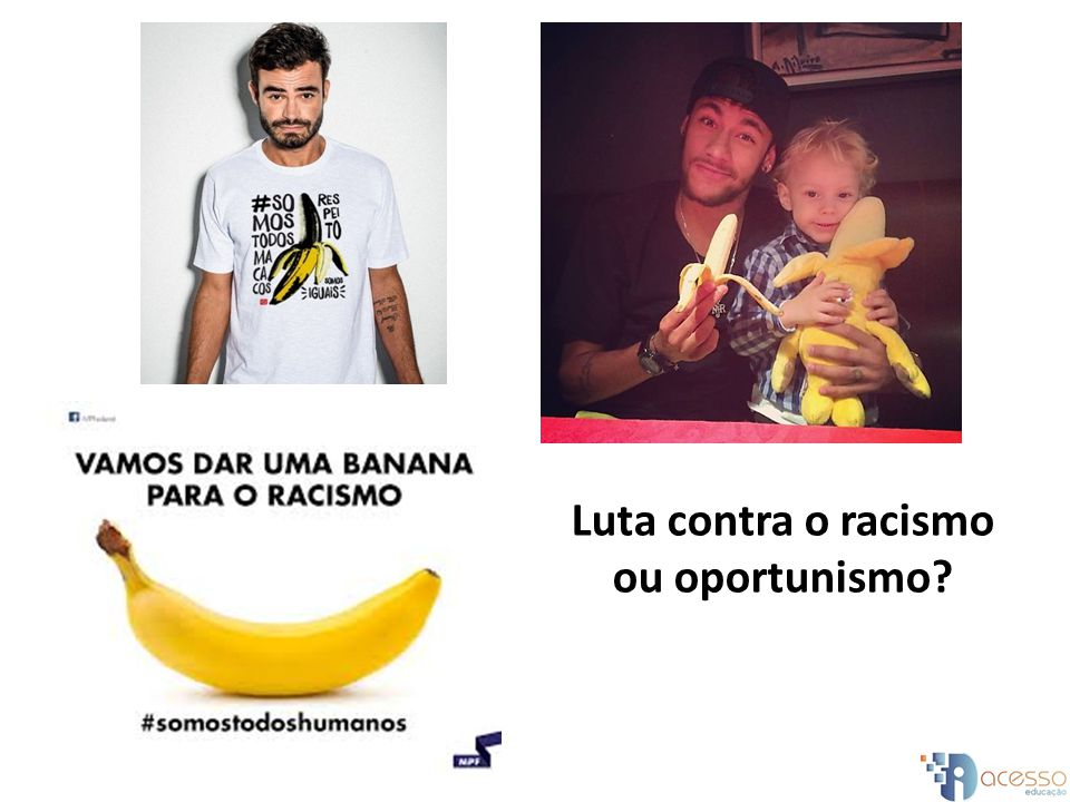 Luta contra o racismo ou oportunismo