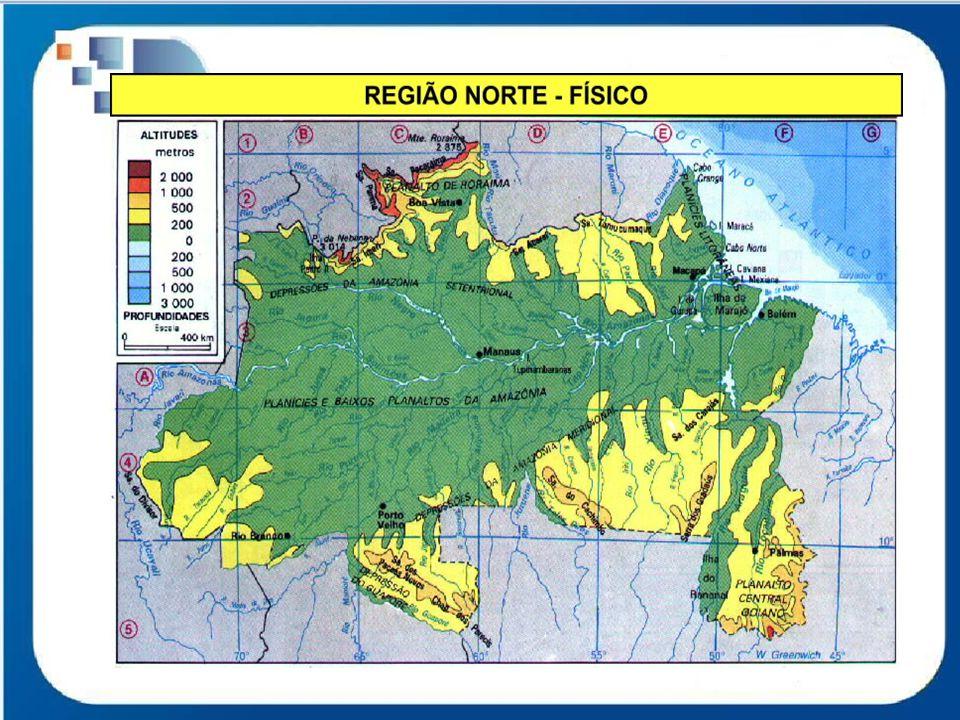 A Região Norte possui 15.023.331 habitantes, 7% da população total do país.
