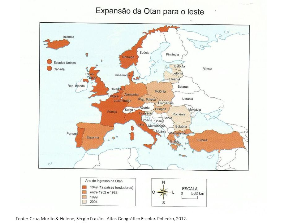 Fonte: Cruz, Murilo & Helene, Sérgio Frazão. Atlas Geográfico Escolar