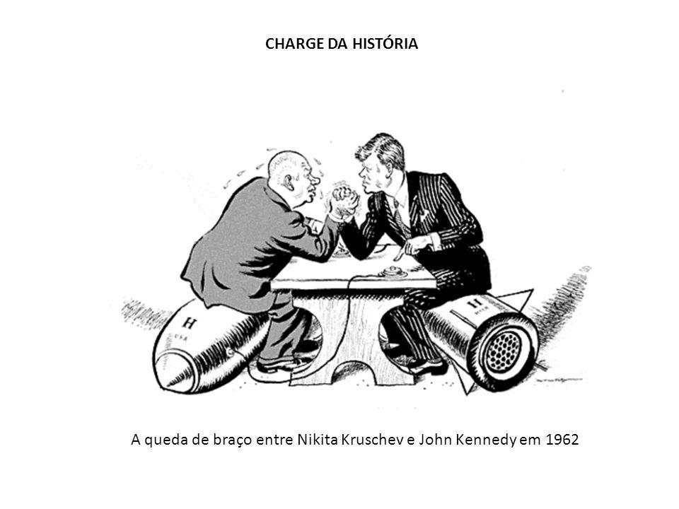 A queda de braço entre Nikita Kruschev e John Kennedy em 1962