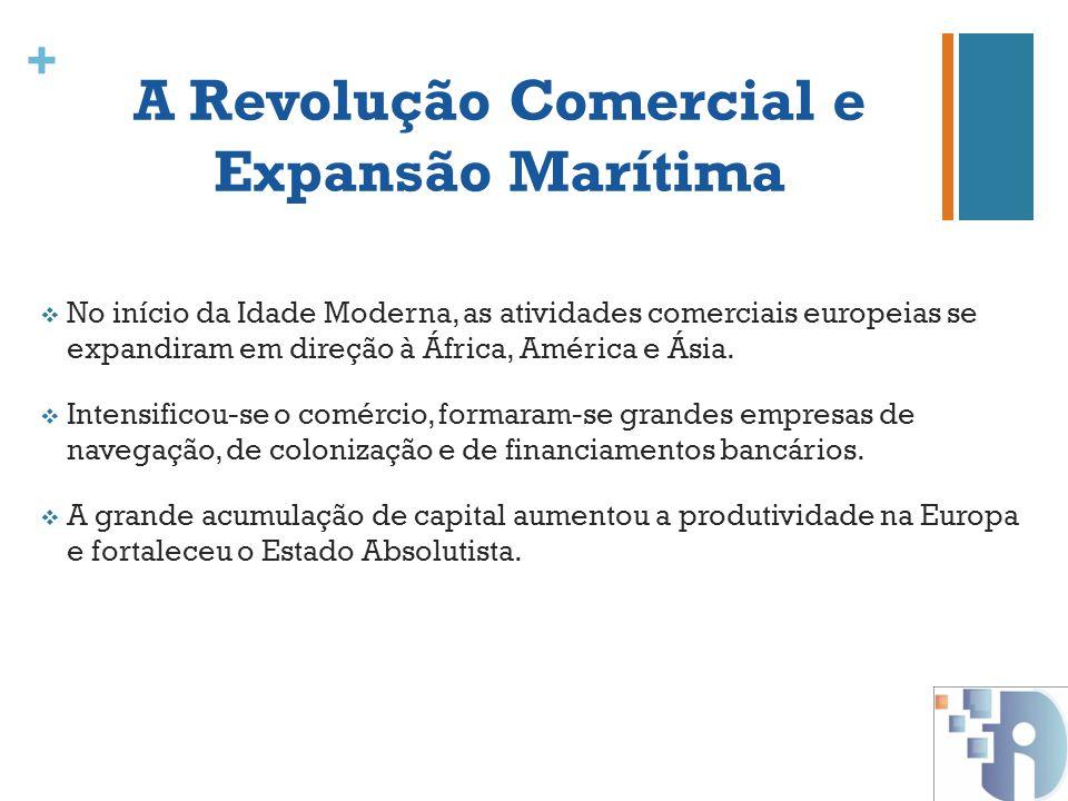 A Revolução Comercial e Expansão Marítima
