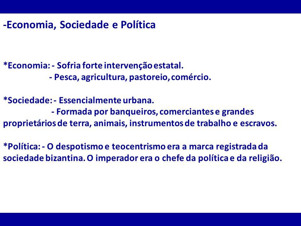 -Economia, Sociedade e Política