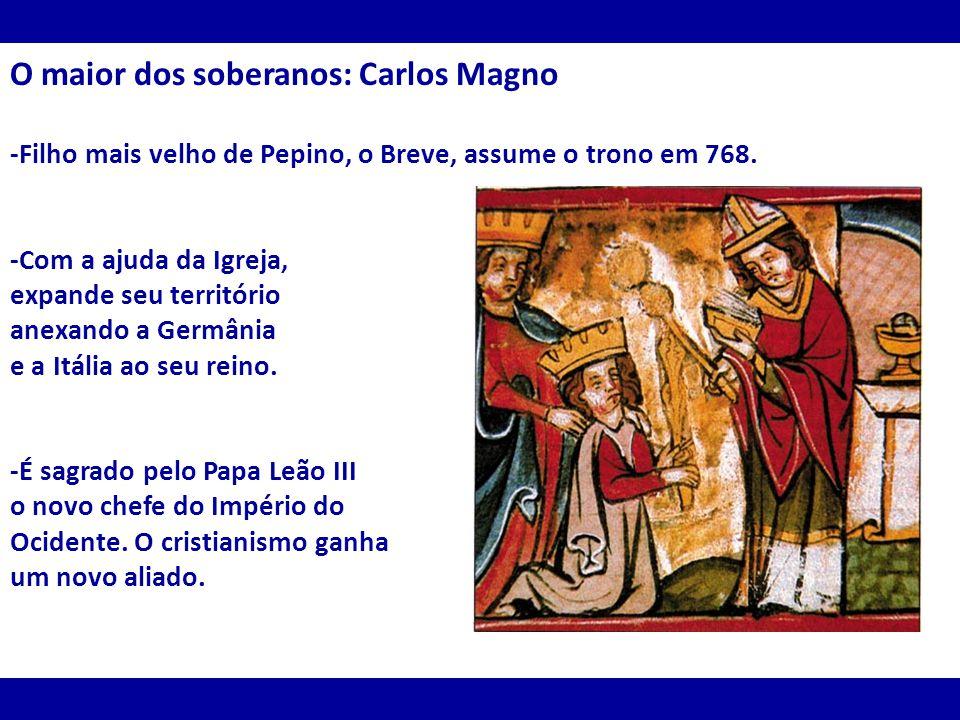 O maior dos soberanos: Carlos Magno