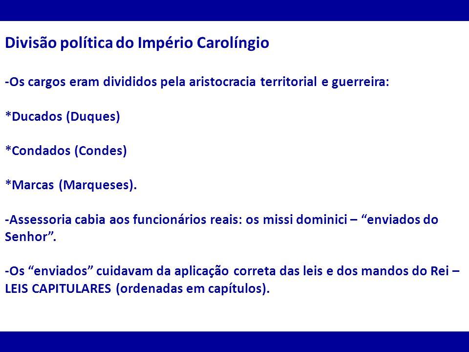 Divisão política do Império Carolíngio