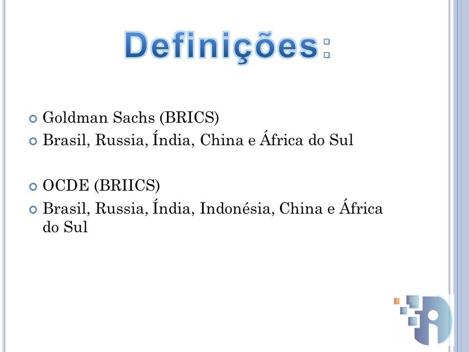 Definições: Goldman Sachs (BRICS)