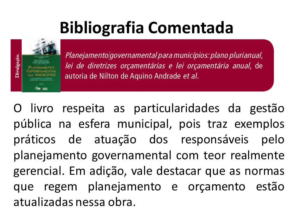 Bibliografia Comentada