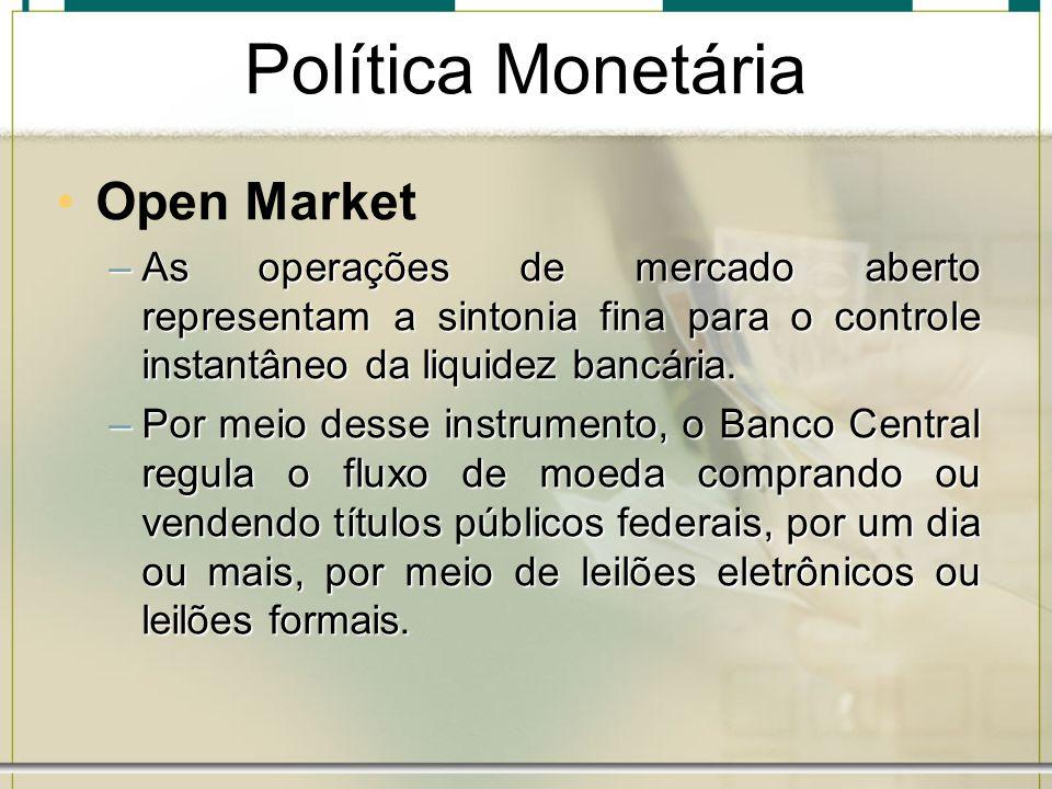 Política Monetária Open Market
