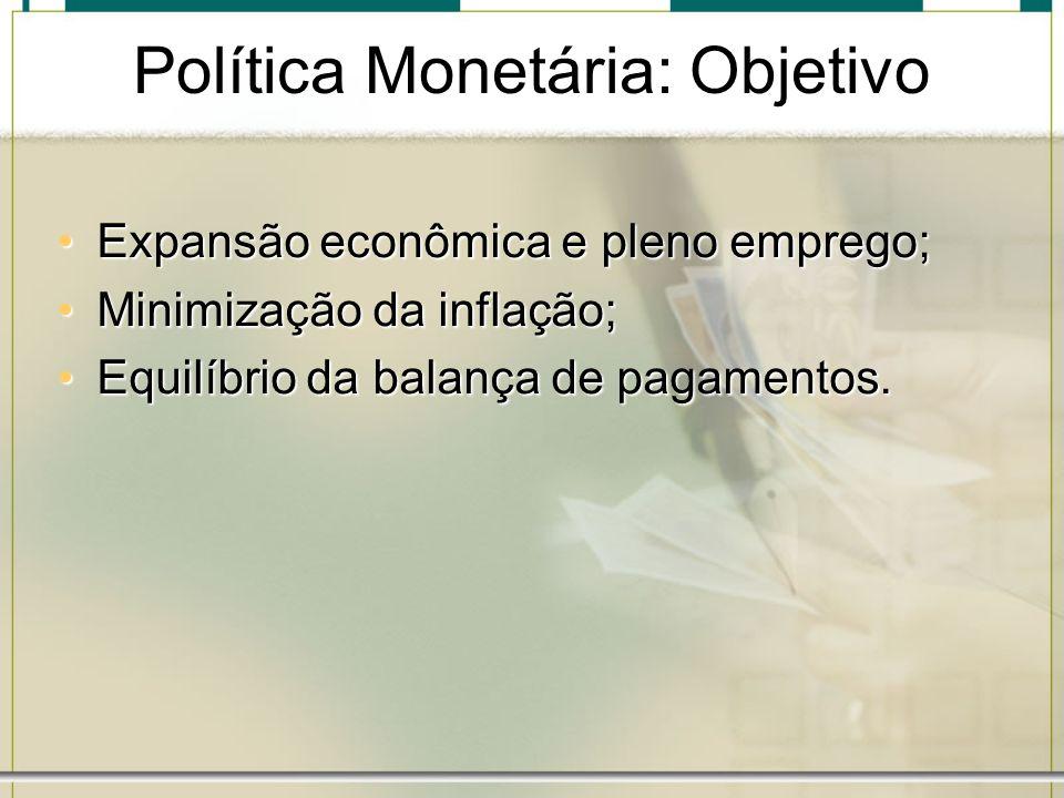 Política Monetária: Objetivo