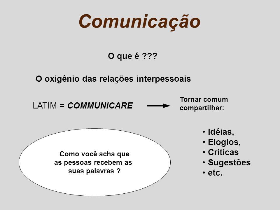 Comunicação O que é O oxigênio das relações interpessoais