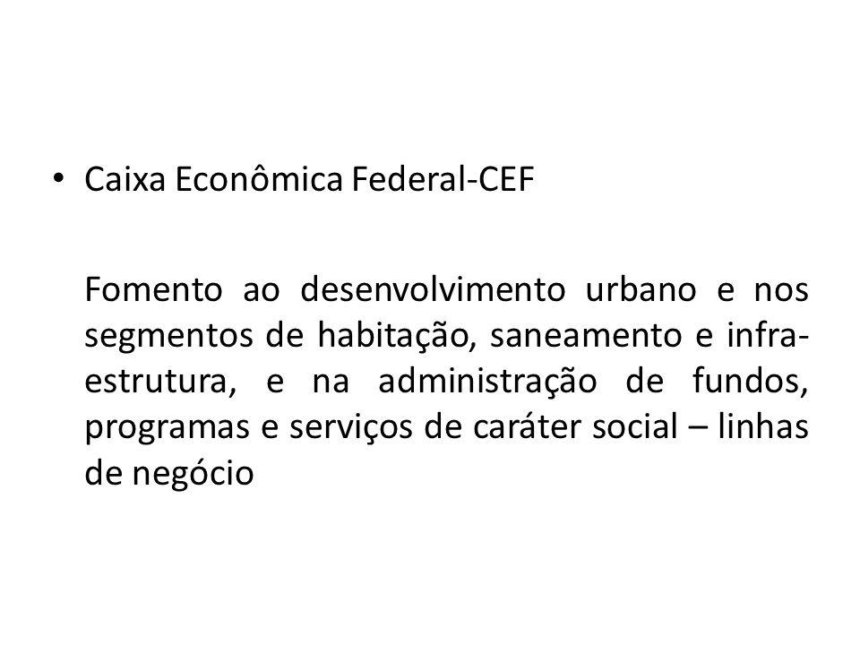 Caixa Econômica Federal-CEF