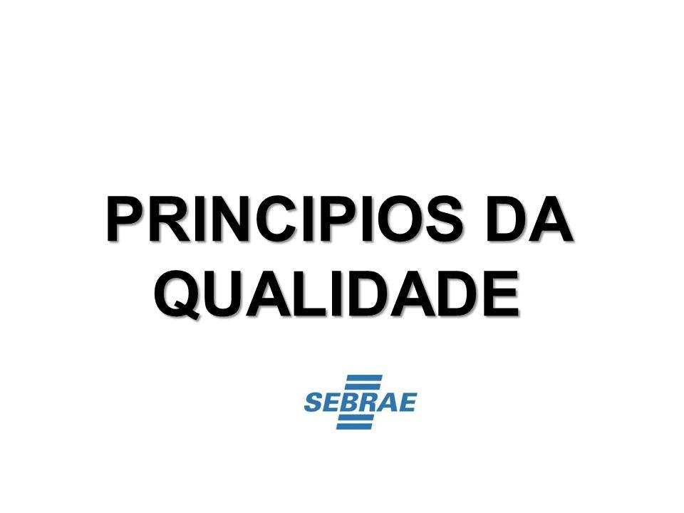 PRINCIPIOS DA QUALIDADE