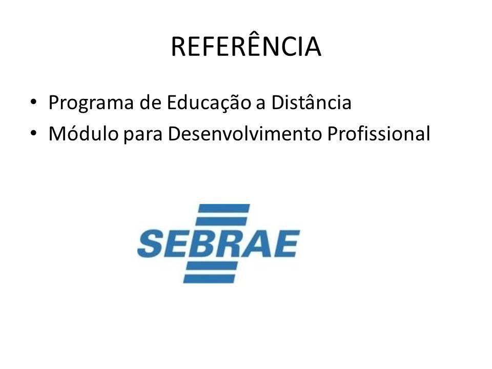 REFERÊNCIA Programa de Educação a Distância