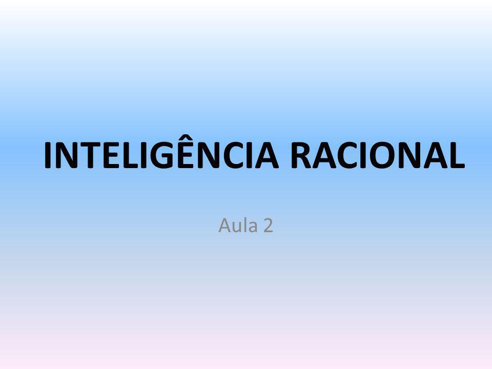 INTELIGÊNCIA RACIONAL