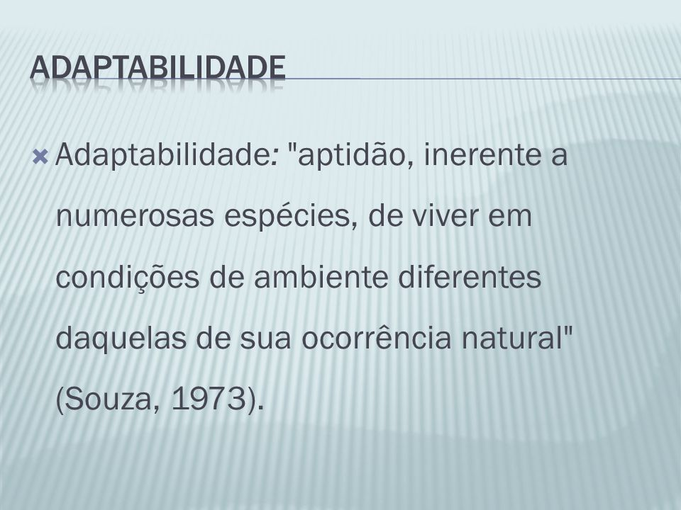 adaptabilidade