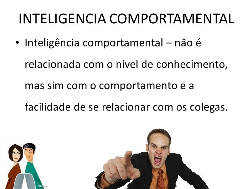 INTELIGENCIA COMPORTAMENTAL