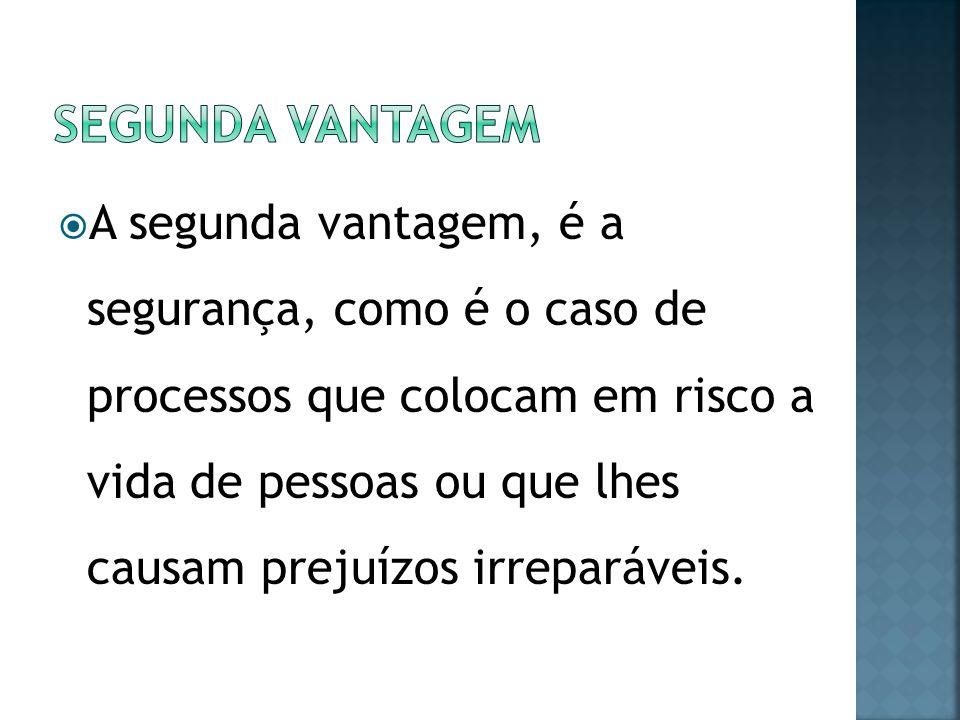 SEGUNDA VANTAGEM