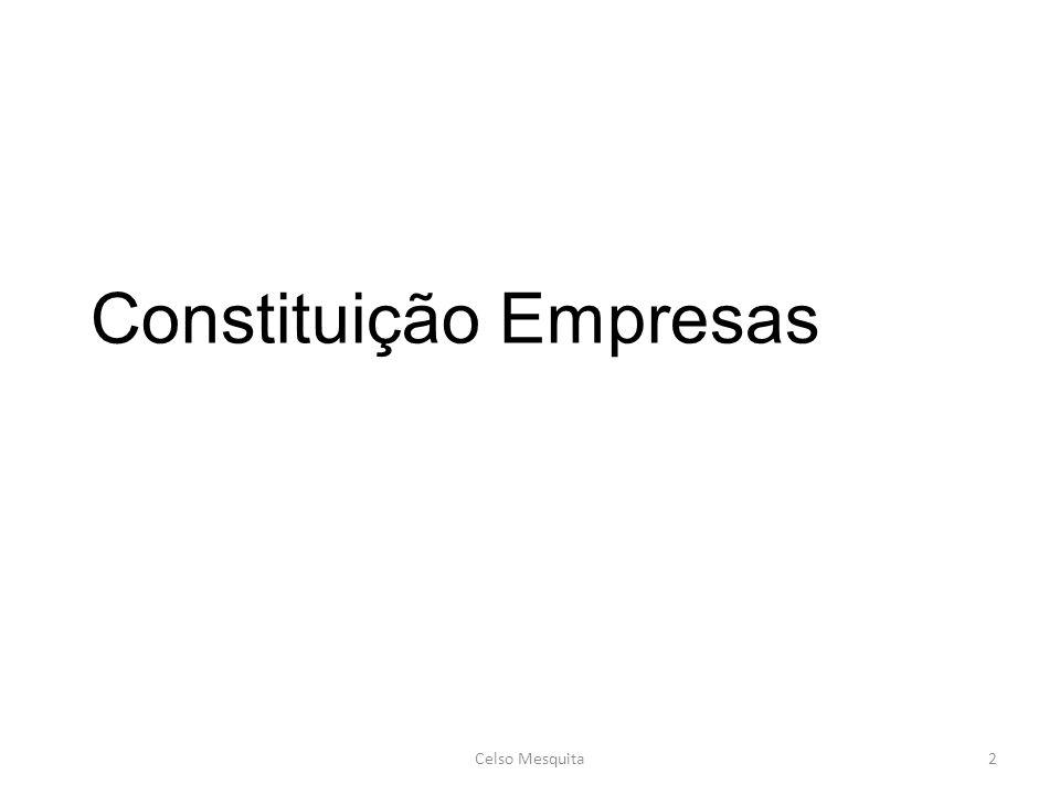 Constituição Empresas