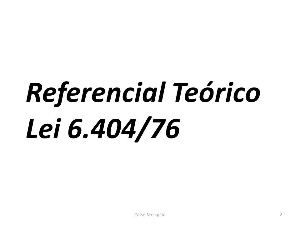 Referencial Teórico Lei 6.404/76