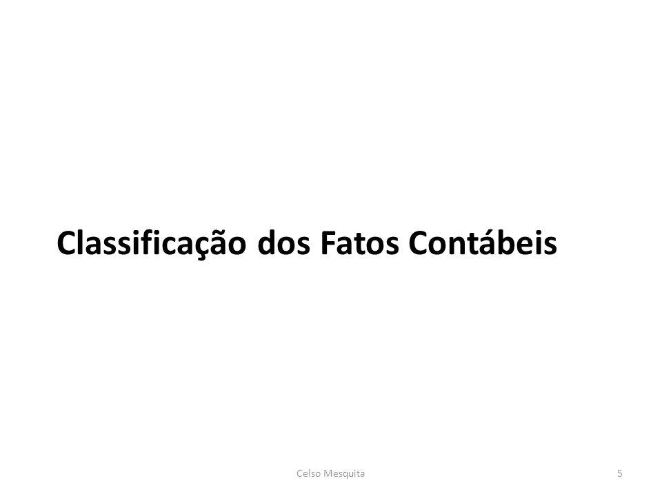Classificação dos Fatos Contábeis