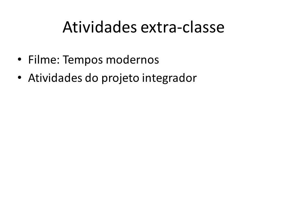 Atividades extra-classe