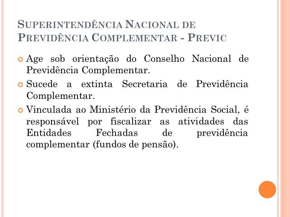 Superintendência Nacional de Previdência Complementar - Previc