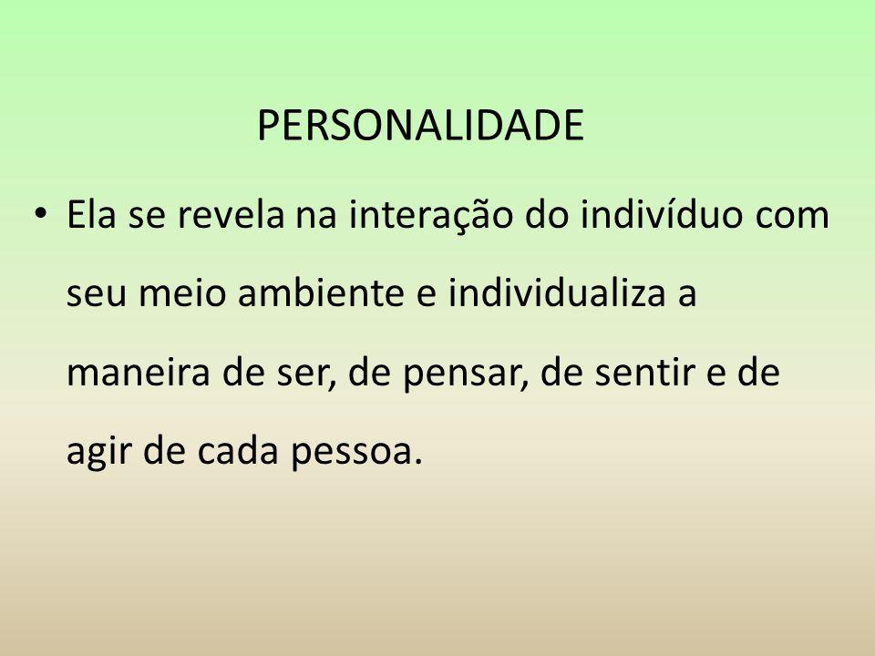 PERSONALIDADE
