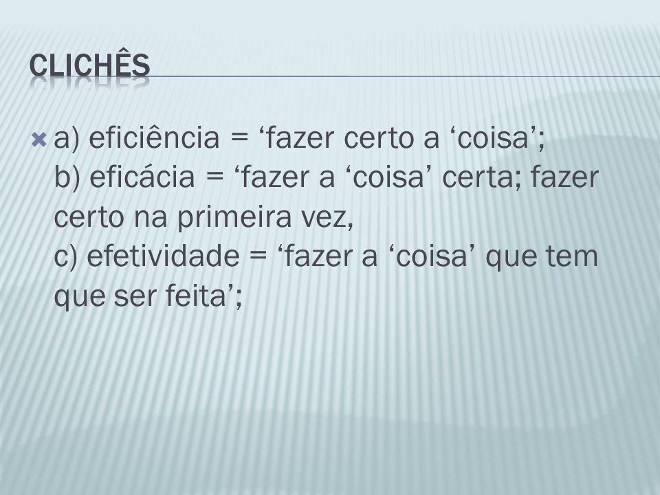 clichês