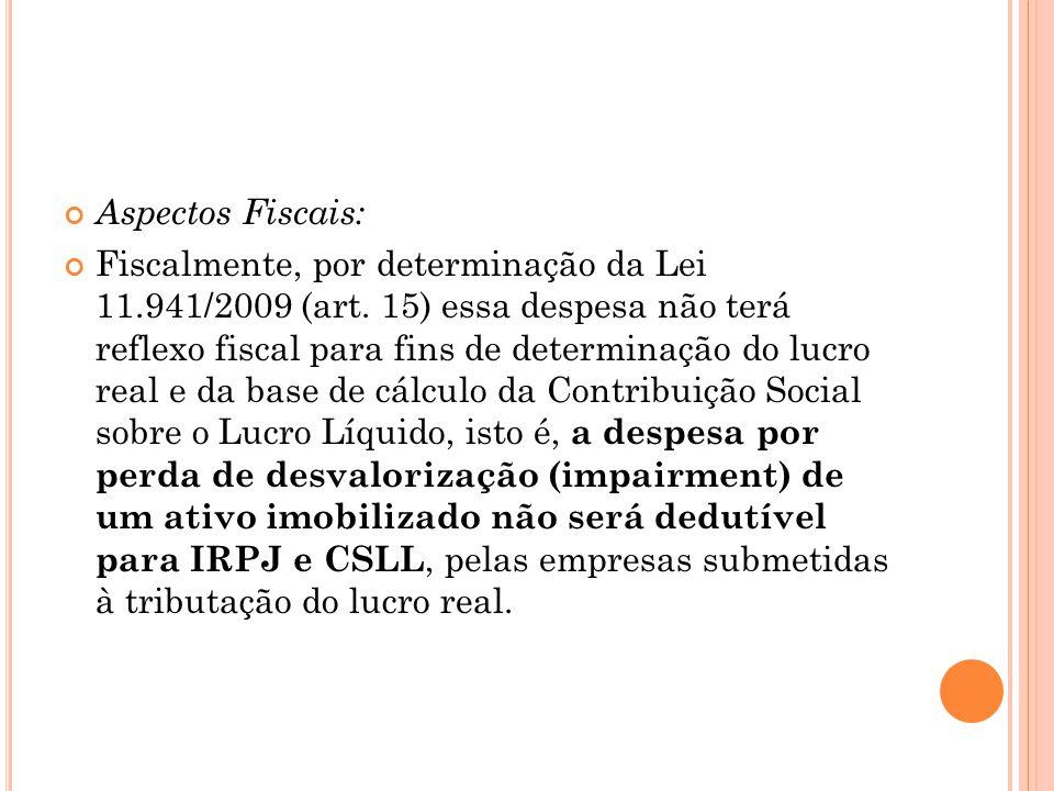 Aspectos Fiscais: