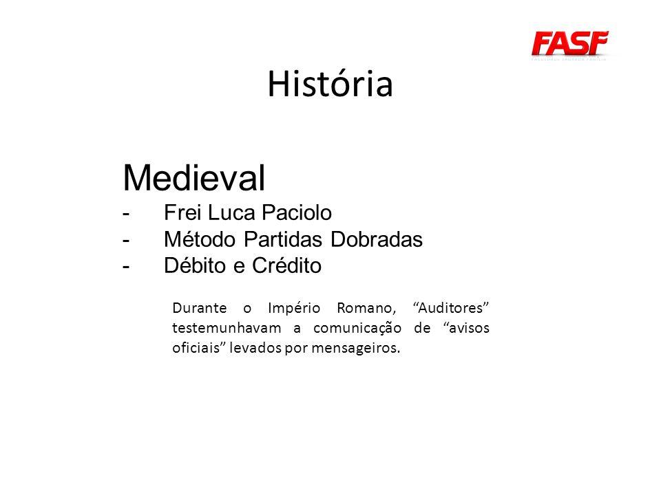 História Medieval Frei Luca Paciolo Método Partidas Dobradas