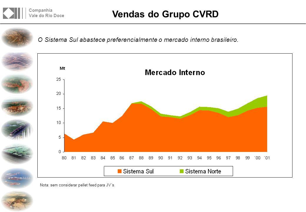A CVRD e o Mercado Interno