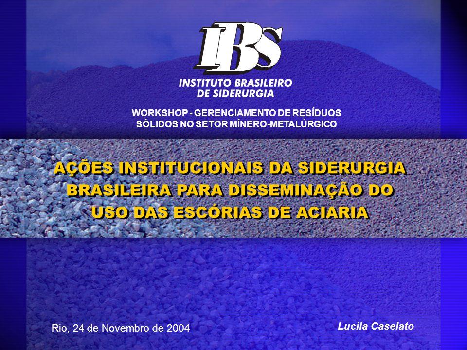 WORKSHOP - GERENCIAMENTO DE RESÍDUOS SÓLIDOS NO SETOR MÍNERO-METALÚRGICO