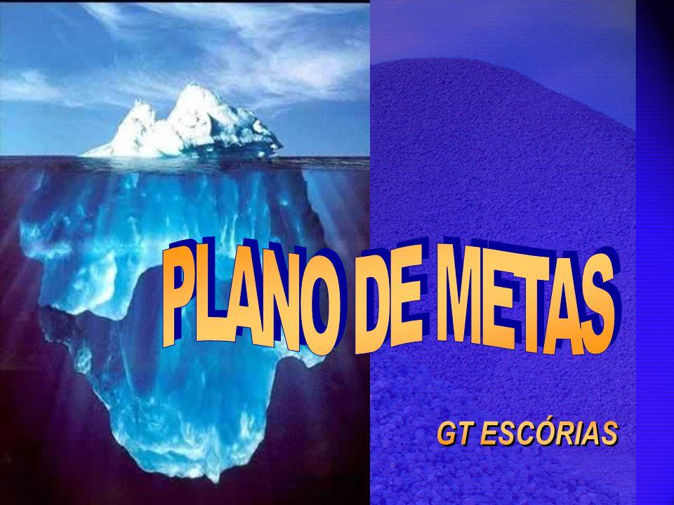 PLANO DE METAS GT ESCÓRIAS